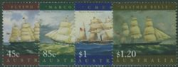 AUS SG1727-30 Ship Paintings set of 4